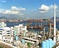Photo of Chemical Waste Treatment Centre Facility on Tsing Yi  Island