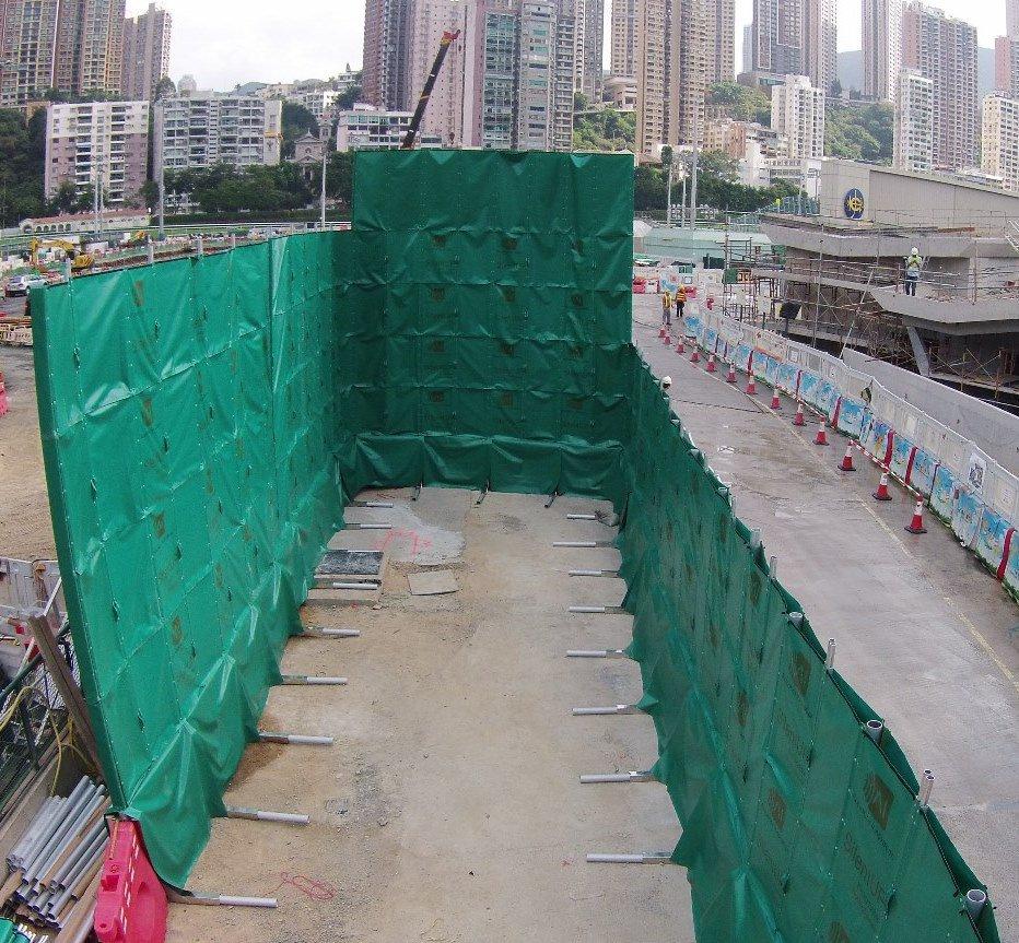 Construction Noise Barrier