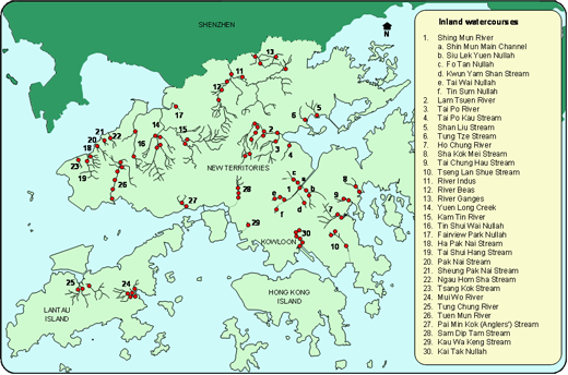 EPD - River Water Quality in Hong Kong