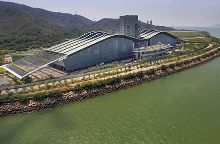 Hong Kong's first sludge treatment facility T•PARK opens
