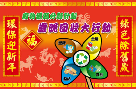 Lunar Year-end Recycling Campaign 2017