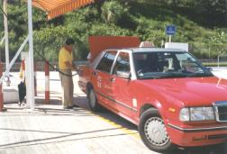 Photo of LPG taxi