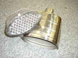 Photo of particulate trap