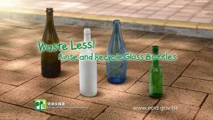 Video-Waste Less! Rinse and Recycle Glass Bottles (Uses)