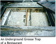Photo of An Underground Grease Trap of a Restaurant