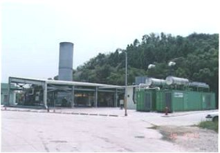 Image of WENT Landfill Flaring Plant and Generator