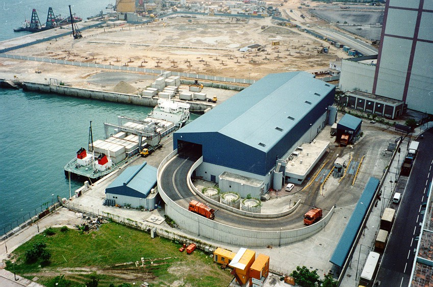 Image of Island East Transfer Station