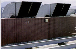 Locate the exhaust outlets at rooftop for better dispersion.