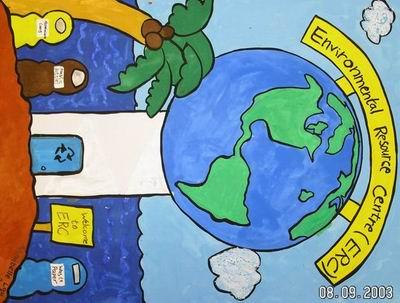 环境保护署   书签设计比赛及; 小学生环保书签图片